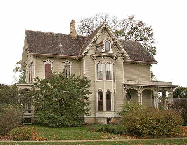 I.C. Bosworth Home, Elgin (Karla Nagy photo)