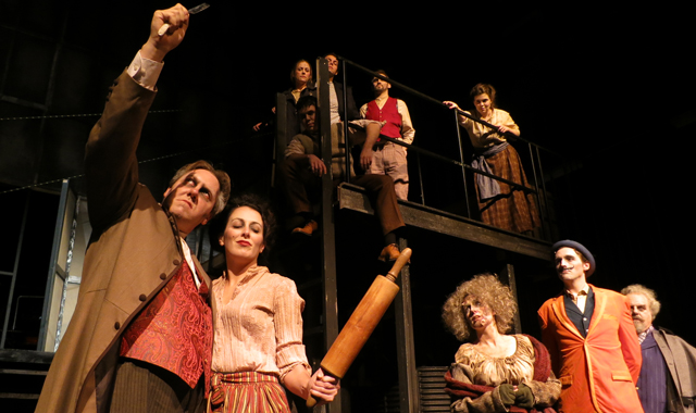 Williams Street Repertory's 2013 performance of Sweeny Todd garnered several awards for production quality and an elaborate scenery.
