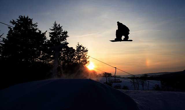 Sundown Mountain Ski Resort, Dubuque, Iowa